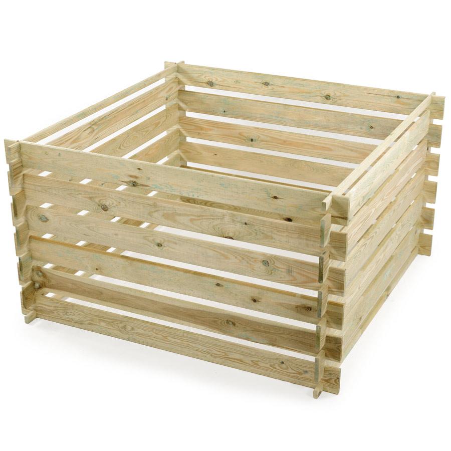 Quels sont les avantages du composteur en bois?